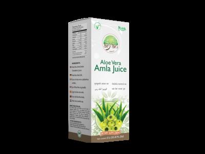 Aloe Vera Amla Juice - Aryan Herbals