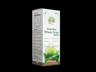 Aloe Vera Wheat Grass Juice- Aryan Herbals