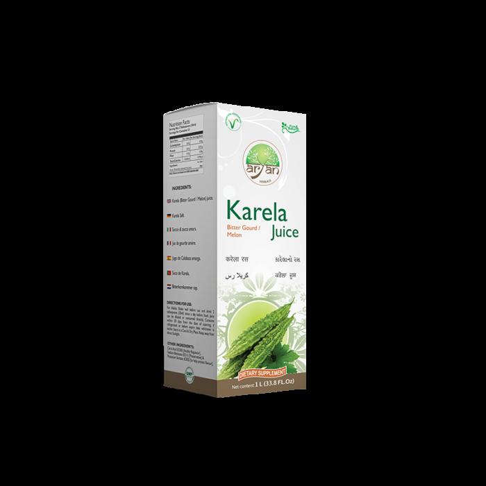 Karela Bitter Gourd Melon Juice - Aryan Herbals