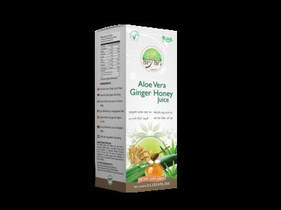 Aloe Vera Ginger Honey Juice - Aryan Herbals