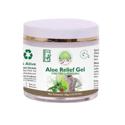 Aloe Relieft Gel - Aryan Herbals