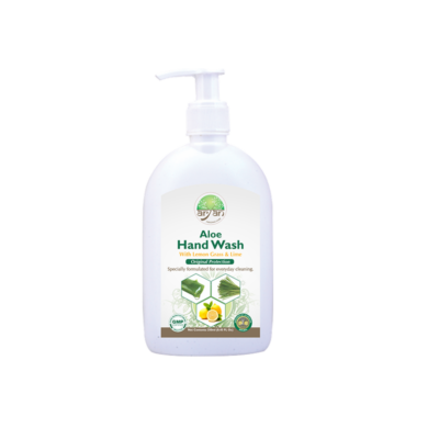 Aloe Handwash with Lemon Grass & Lime - Aryan Herbals