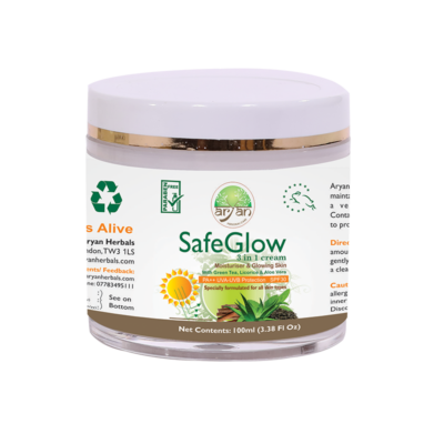 Safe Glow ( Moisturiser and Glowing Skin ) - Aryan Herbals