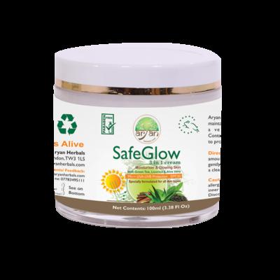 Safe Glow ( Moisturiser and Glowing Skin ) - Aryan Herbals