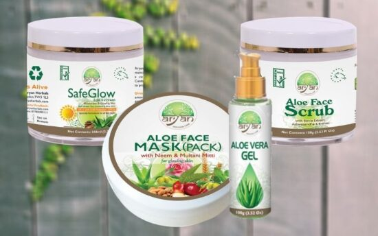 Herbal Face Care products