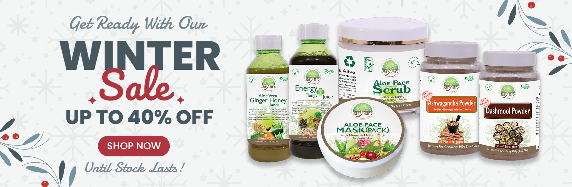 New Year Offer Aryan Herbals